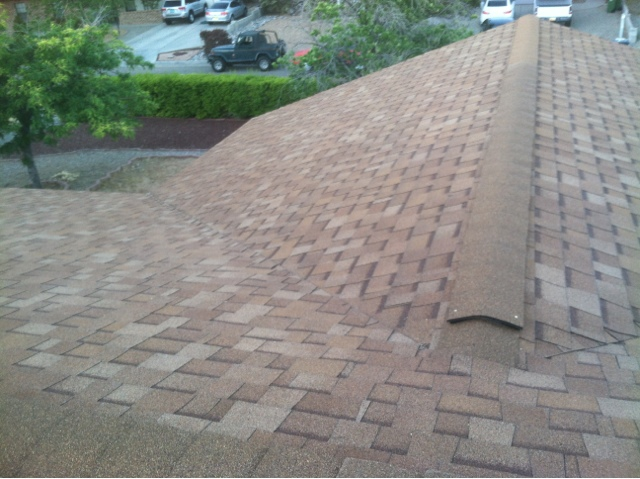 Xquisite Custom Homes Inc Desert Tan Shingles With Tan Tpo