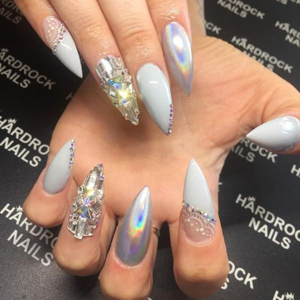 Spring Nail Art 2018 Cute Acrylic Nail Designs Nails C