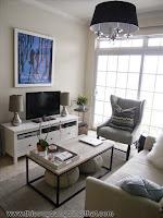 Những gợi ý bài trí phòng khách nhỏ quyến rũ - Thi công trang trí nội thất đẹp