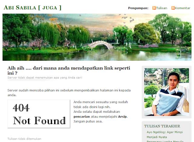 dihapus%2525201 Kenapa Halaman Blog Tidak Ditemukan?