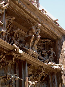 Detail of The Gates of Hell
