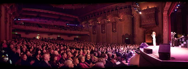 Bernadette Peters performs in front of a full house at the Mt. Baker Theatre / Credit: Mt. Baker Theatre