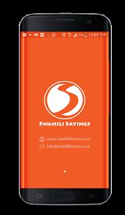 Swahili Sayings - náhled