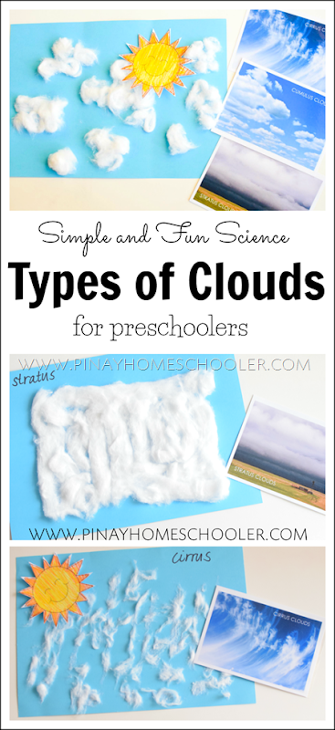 Type of Clouds for Preschoolers