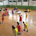 NBA Juvenil F contra Comenius