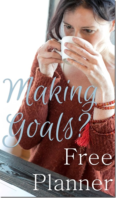 Making goals? Plan to sparkle with this free planner at Homeschooling Hearts & Minds
