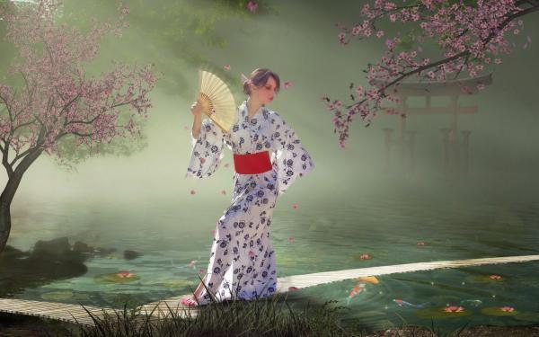 Look Of Holy Maiden, Beautiful Magic Girls 1