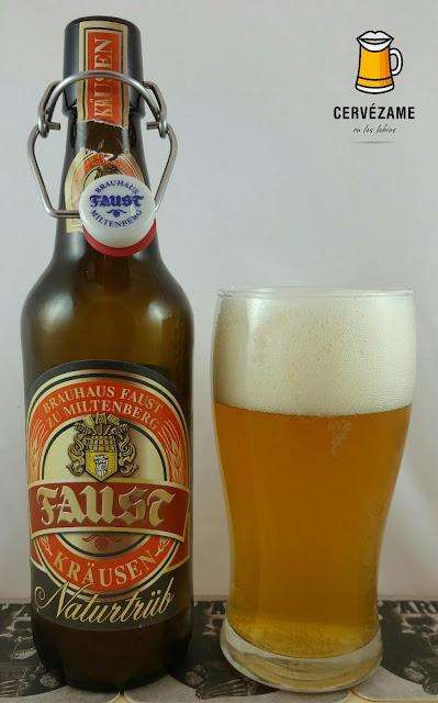 cerveza beer Faust Kräusen Naturtrüb cervezame