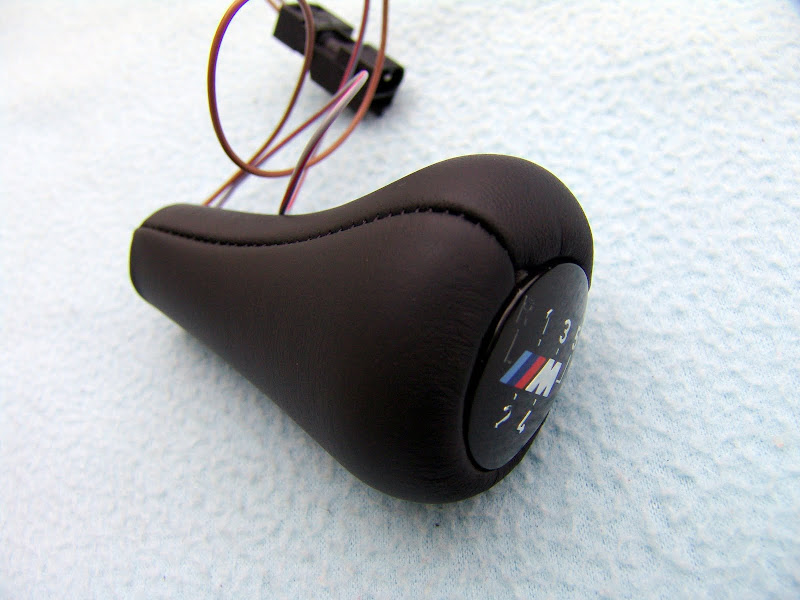 Bmw E30 E36 M3 Z3 Illuminated Leather Shift Knob Brand