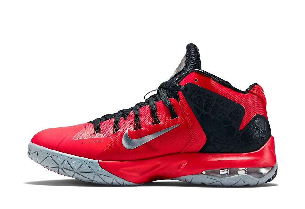 Nike Ambassador 7 Red and Metallic Silver New Look . ddfd0920f3