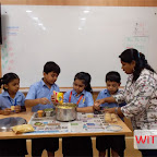 BHEL MAKING ACTIVITY - PRIMARY SECTION AT WITTY KIDS - CHIKOOWADI 2018-19