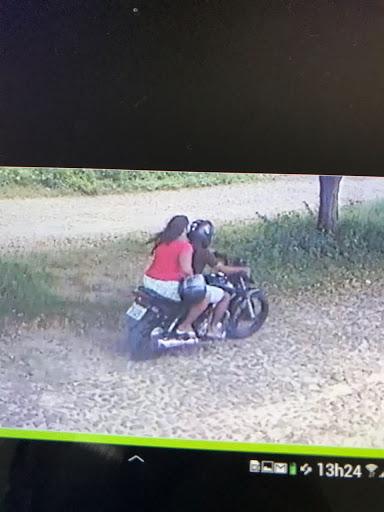 Secretaria de Segurança de Ipu divulga fotos de casal de assaltantes