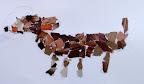 Mosaic Dog by Zoe