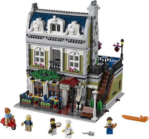 Contenido de Lego® 10243 Restaurante Parisino