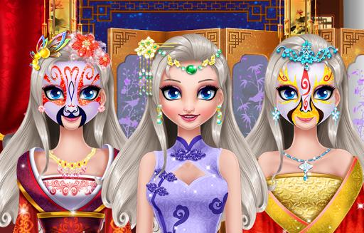 Peking Opera Makeup -Angela