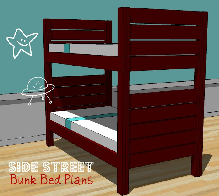 Awesome So we are going to fix that today And how kind of Anna to take the time to hunt me down and the plans to give credit Of course we have to name these bunk