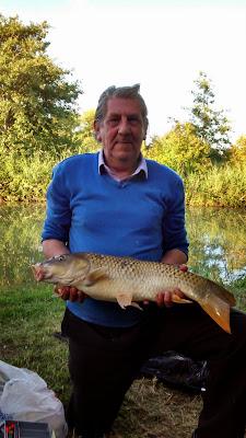 Carp caught by this angler at swallowbrook