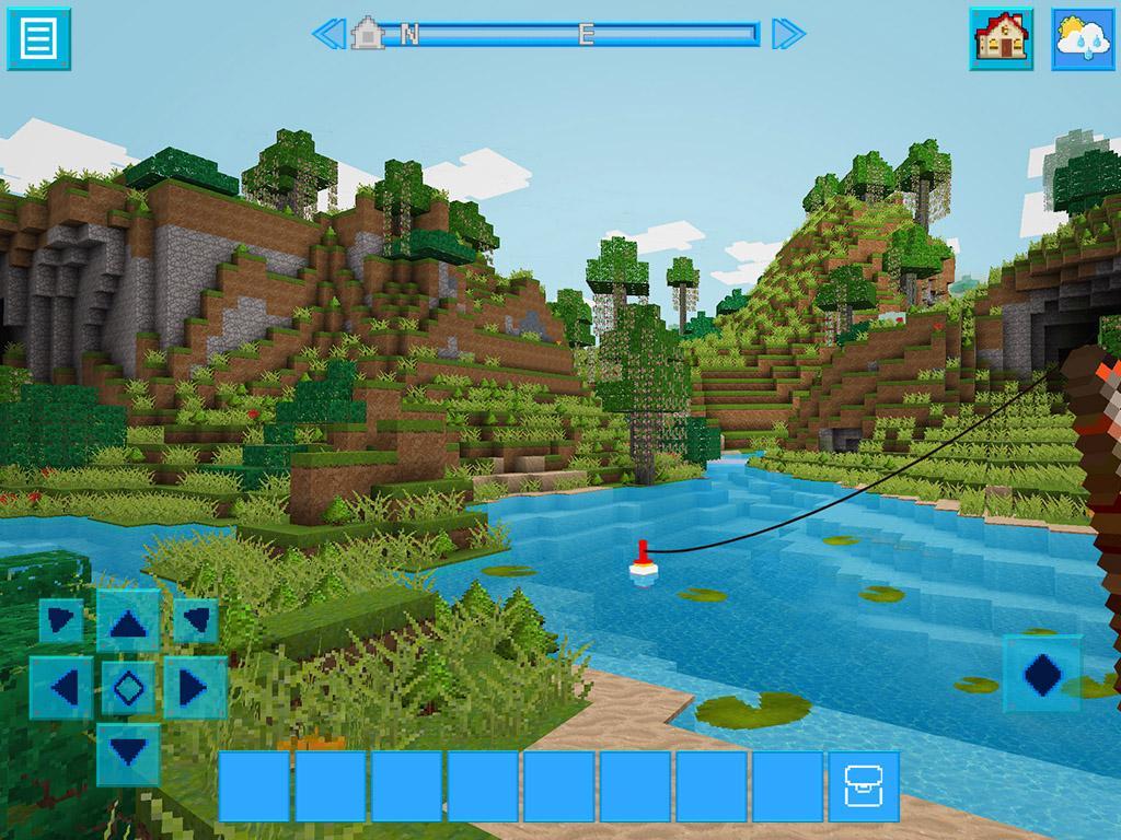 Adventurecraft 3d block building survival craft for Block craft 3d games