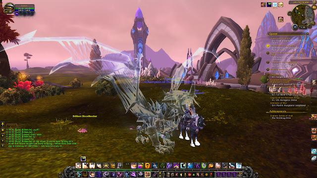 Glory of the Icecrown Raider - Dragon mount reward - white