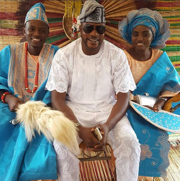 Image result for Checkout These Lovely Photos From Actor, Adekola Odunlade's Brother's Traditional Wedding
