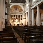 Eglise Saint Germain : nef et choeur