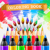 Coloring Pages - Sketchbook Art Therapy Android APK Download Free By Ingenious Boys