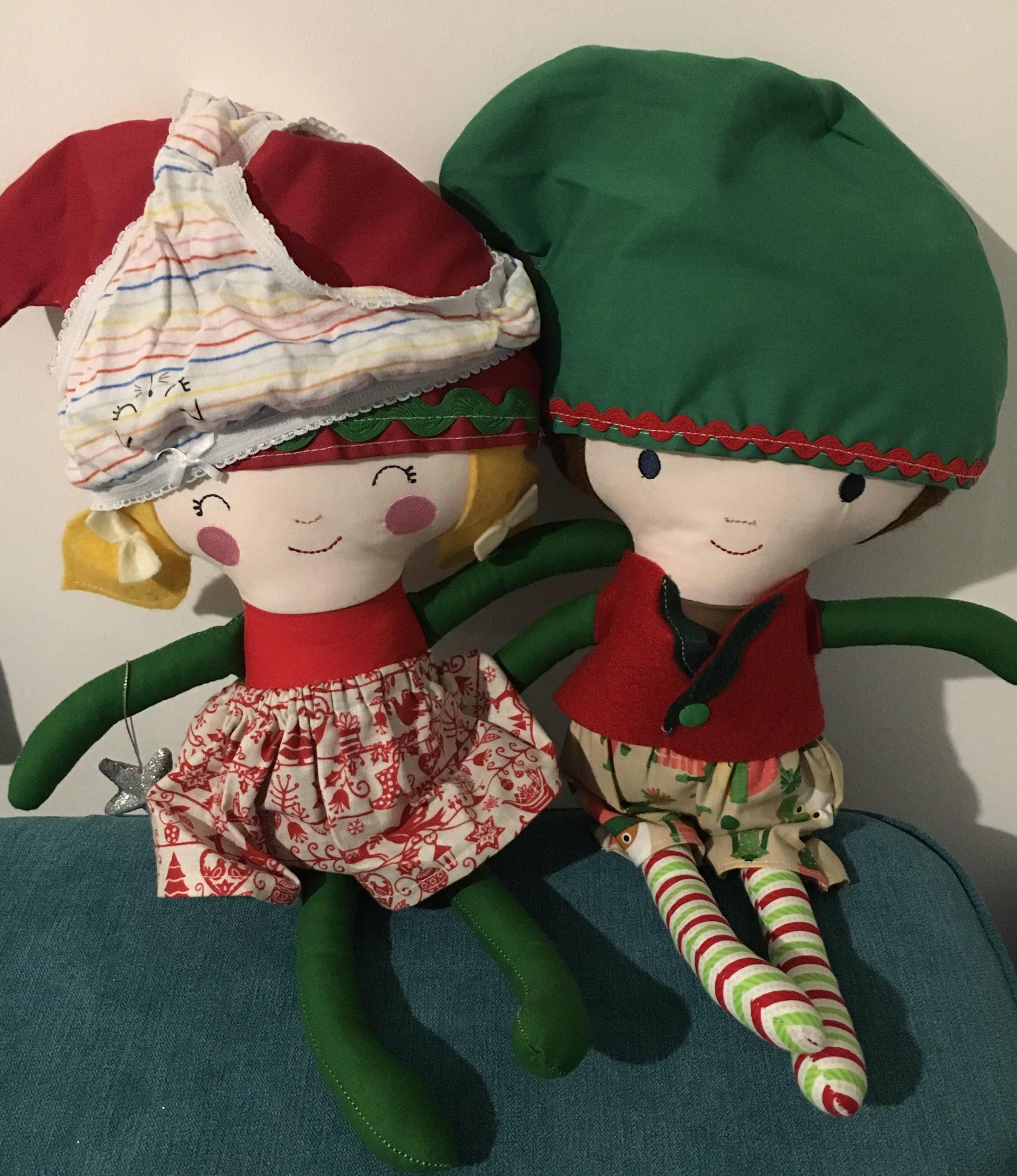 Elf on the shelf knicker hat