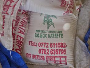Photo: maize flour
