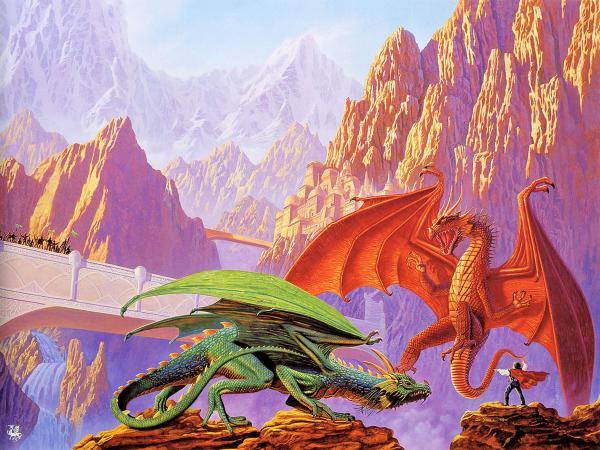 The Fight Of Dragons, Spirit Companion 4