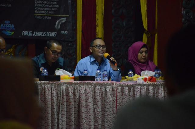 """Gelar Diskusi Publik FORJAS Angkat Tema """"Membaca Problematika dan Wajah Pers"""