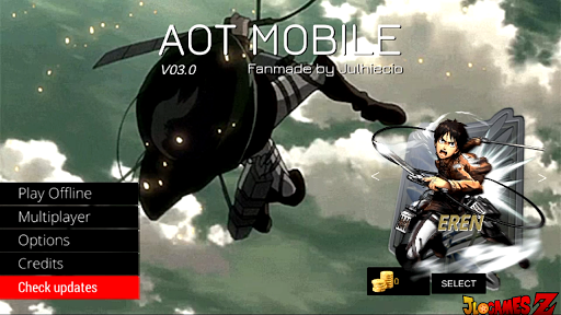SAIUU!! ATTAQUE OF TITAN PARA CELULARES ANDROID EM APK + DOWNLOAD SHINGEKI NO KYOJIN 2019