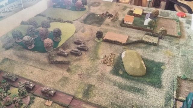 Sgt Steiner's Wargaming Blog: Panzer Grenadier 'Cintheaux' scenario