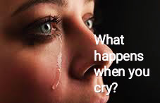 What happens when you cry?