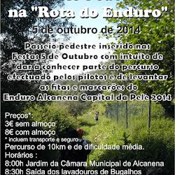 "Passeio Pedestre na ""Rota do Enduro"" - 5 outubro 2014"