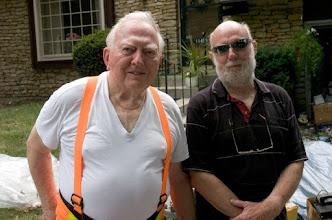 Photo: Wilbur and his son Lorran w0del