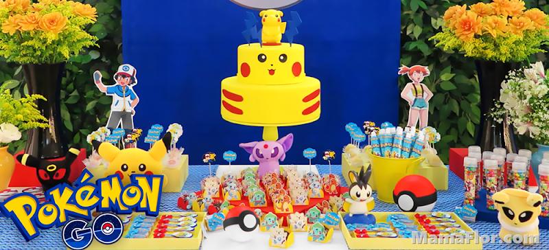POKEMON: Ideas para Fiesta Temática, Decoración para Cumpleaños de Pokémon