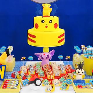 POKEMON Go: Fiesta Temática, Decoración para Cumpleaños de Pokémon