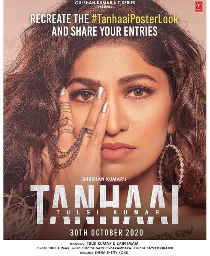 """Tulsi Kumar's New Song """"Tanhaai"""""""