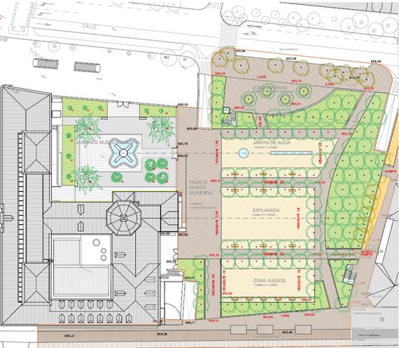 Presentado el nuevo proyecto de los Jardines del Arquitecto Ribera