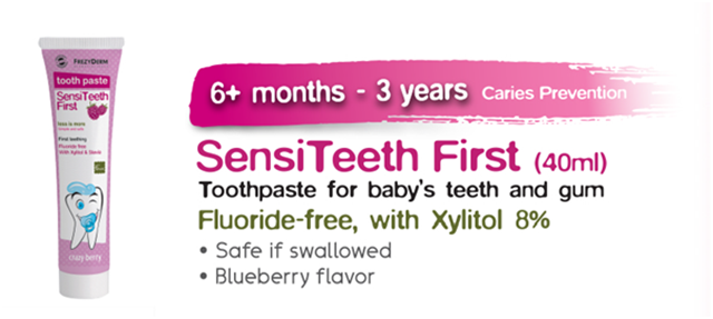 HIS BEAUTIFUL SMILES BEGINS WITH SENSITEETH KIDS ORAL CARE 22