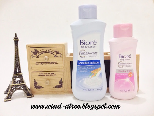 [Review] Biore Body Lotion Anti Pollution