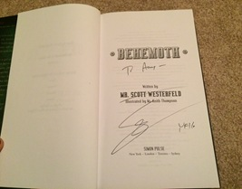 Behemoth signed