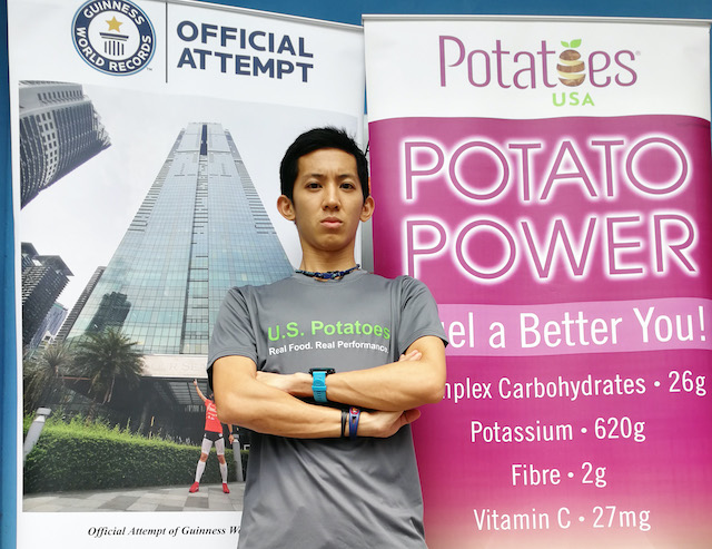 U.S Potatoes Powers Up Soh Wai Ching Towards A New Guinness World Record