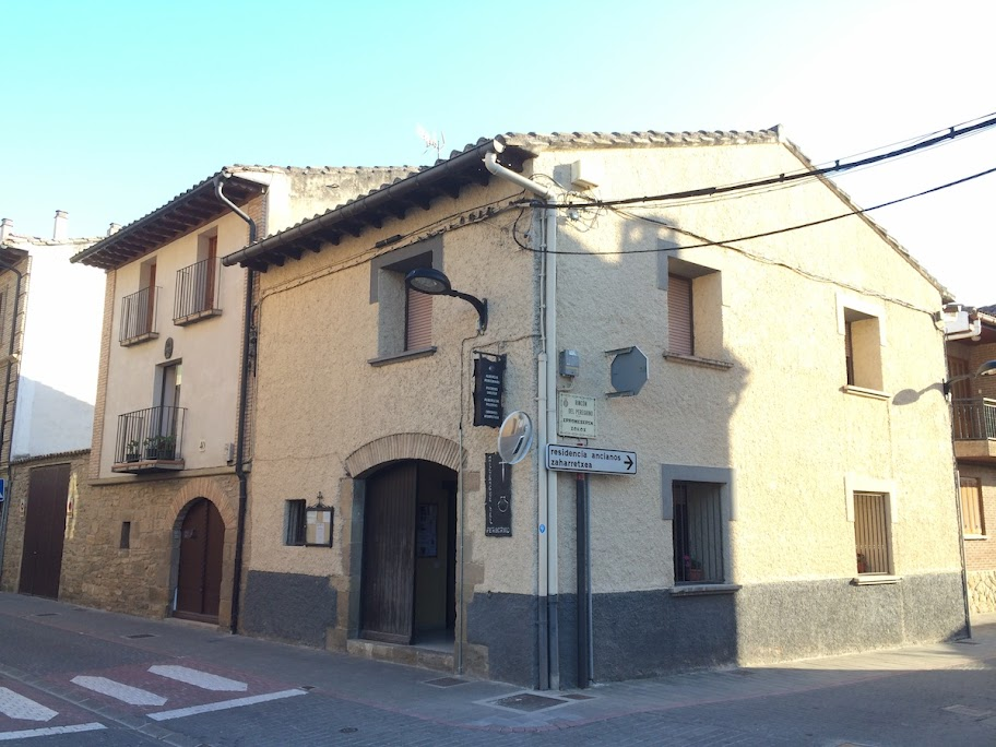 Albergue de peregrinos municipal de Sangüesa, Navarra, Camino Aragonés