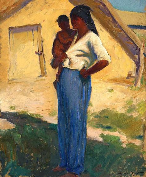 Leon Biju - Maternitate (sat tătărăsc)