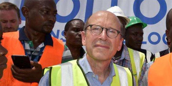Bolloré Kenya Managing Director Jean-Pascal Naud. PHOTO | NMG