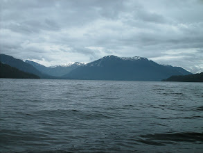 Photo: Heading north up Seward Passage.