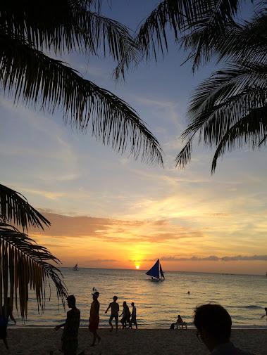 長灘島夕陽
