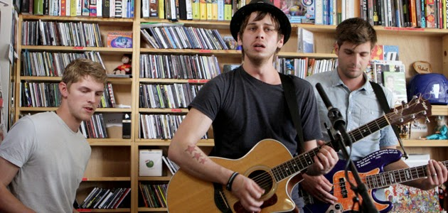 Foster The People no Tiny Desk Concert