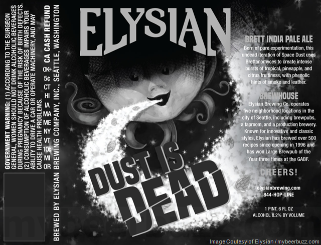 Elysian Adding Dust Is Dead Brett IPA